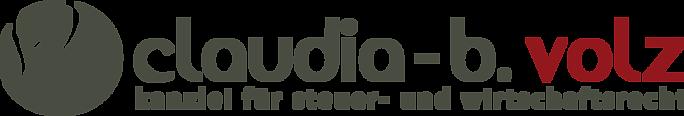 Logo von Steuerberaterin Claudia-B. Volz